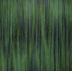 Luca Macauda, Testa di Pisma, 2017, pastello morbido, acrilico su tela, cm 135x135