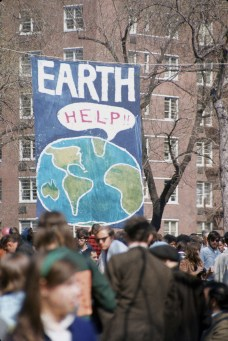 Il primo Earth Day, New York, 22 aprile 1970 (Photo by Hulton Archive/Getty Images)