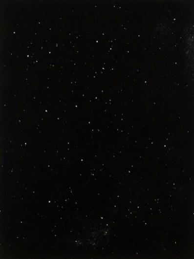 Elia Cantori, Elia Cantori, Dead Constellation, 2015, impressione diretta su carta fotosensibile, 45x35 cm Courtesy CAR DRDE, Bologna