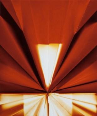 Elia Cantori, 60Watt-12.97Feet, 2010, impressione diretta su carta fotosensibile, 50x60 cm Courtesy CAR DRDE, Bologna