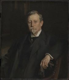 John Singer Sargent (Firenze 1856 – Londra 1925), Ritratto di Aaron Augustus Healy, 1907, firmato e datato in alto a destra, olio su tela, New York, Brooklyn Museum