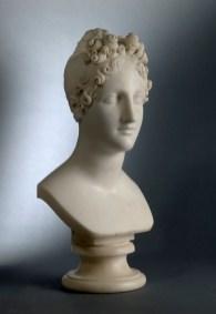 Antonio Canova, Eleonora d'Este, 1819, marmo, altezza cm 45, Brescia, Pinacoteca Tosio Martinengo ©Fondazione Brescia Musei