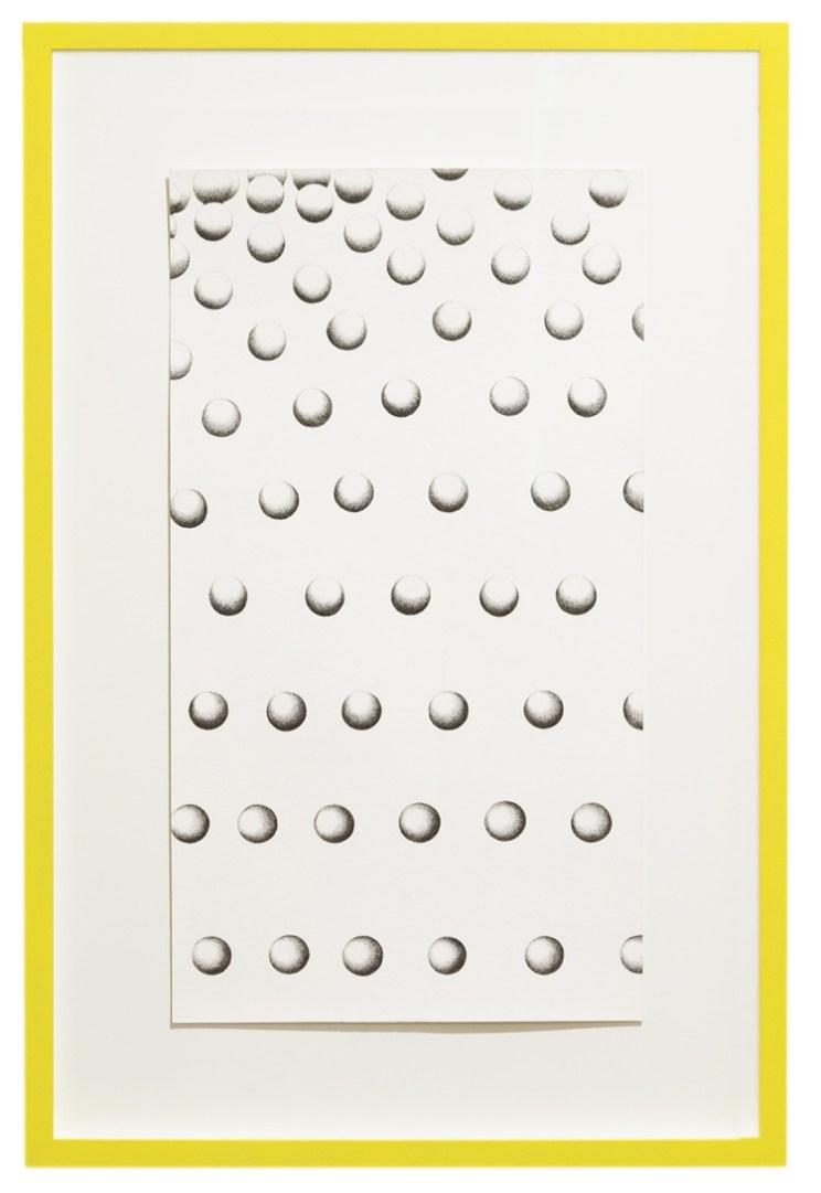 Barbara De Ponti, Novum Locus Amoenus 3 from the series Time Code, 2017, grafite su carta, cm 25x45 © Barbara De Ponti Courtesy Viasaterna, Milano