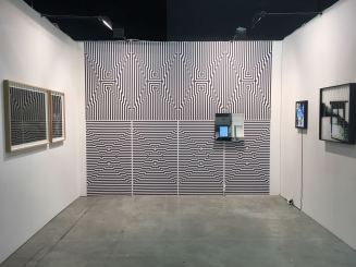 Vincenzo Marsiglia, Wallpaper Op - Interactive Op App. Courtesy Boesso Art Gallery
