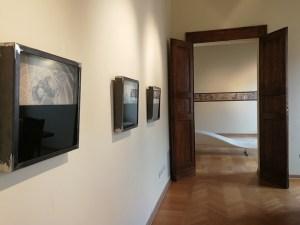 Marcello Carrà. Accelerazioni dello spirito, veduta della mostra (prima sala), MLB Maria Livia Brunelli, Ferrara