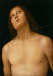 Perugino, San Sebastiano, 1494 circa, The State Hermitage Museum, San Pietroburgo Credits: The State Hermitage Museum, 2017 Foto Vladimir Terebenin