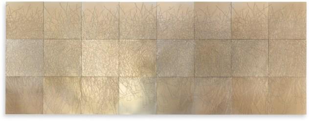 Elisabeth Scherffig, Senza Titolo, 2014, alluminio, 131x349 cm