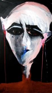 Liana Ghukasyan, Perdonami, che mi sono persa, 2012, olio su tela, 100x70 cm