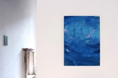 Down Deep. Immagini del profondo nella pittura contemporanea, veduta della mostra (Bruno Marrapodi), Villa Contemporanea, Monza
