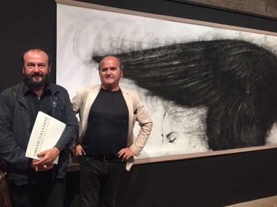 Davide Rondoni e Omar Galliani - Cavalieri dell'aria, Pescherie della Rocca Estense, Lugo, 15 giugno - 22 luglio 2018