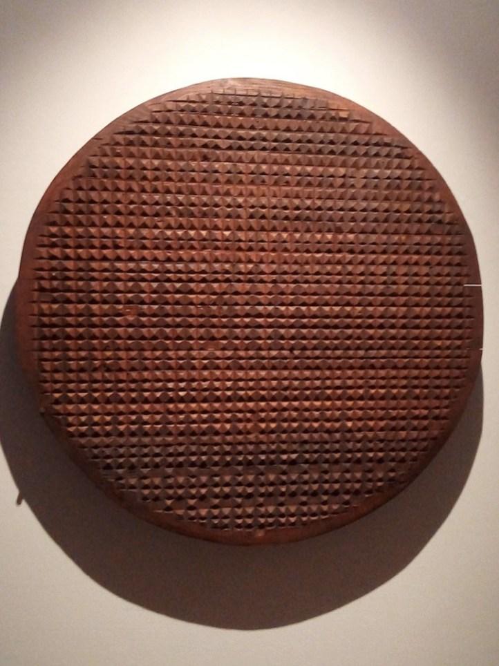 Franca Ghitti scultrice, veduta dell'allestimento (Tondo), Museo d'arte Mendrisio, Mendrisio (Svizzera)