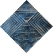 Marica Fasoli, American eagle, 2018, tecnica mista su carta, cm 80x80