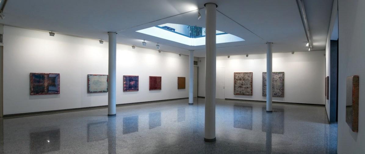 Robert Pan. Cosmic Latte, veduta della mostra, Lorenzelli Arte, Milano