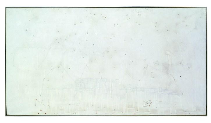 Gianfranco Baruchello, Altopiano dell'incerto, 1965, Collezione privata. Foto: Ezio Gosti