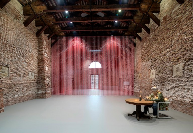 Dancing with Myself, installation view at Punta della Dogana, 2018 © Palazzo Grassi, photography by Matteo De Fina
