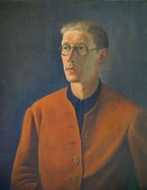 Théodore Strawinsky, Autoritratto, 1934, olio su tela, 92x73 cm, Fondazione T. Strawinsky