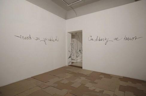 Gabriella Ciancimino, In Liberty We Trust, view of the show, 2018, Palazzo Ziino, Palermo Photo by Fausto Brigantino - Azoto projects & communication
