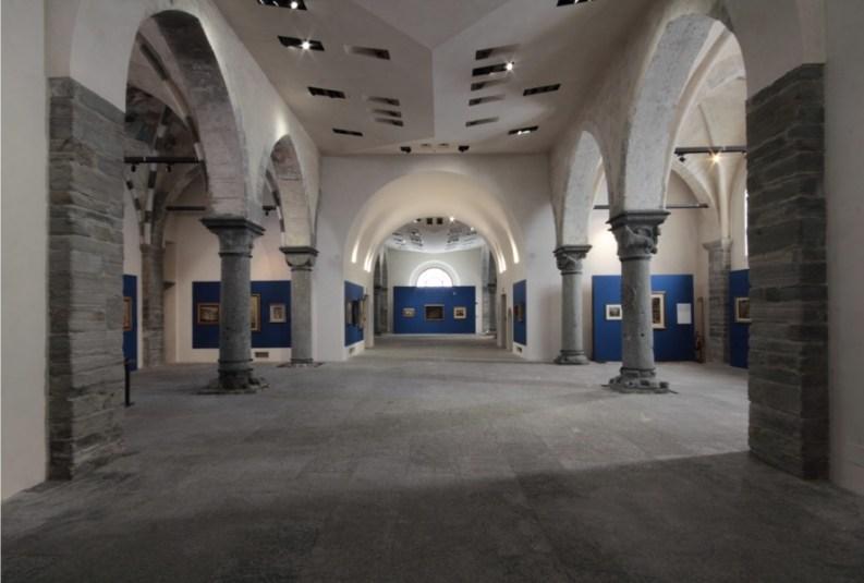De Chirico | De Pisis. La mente altrove, veduta dell'allestimento, Musei Civici di Palazzo San Francesco Domodossola, Domodossola (VB)