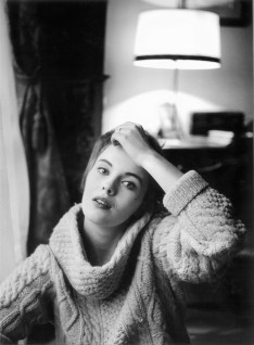 Mario Dondero, L'attrice Jean Seberg, protagonista di Fino all'ultimo respiro di Godard, Parigi, 1959 Courtesy Galleria Ceribelli, Bergamo