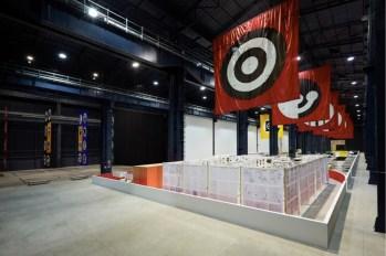 """Matt Mullican, """"The Feeling of Things"""", veduta della mostra, Pirelli HangarBicocca, Milano, 2018. Courtesy dell'artista e Pirelli HangarBicocca, Milano. Foto: Agostino Osio"""