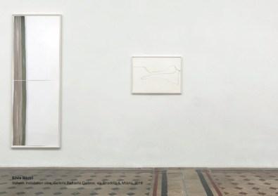Silvia Bächli, Nähern, Installation view, Galleria Raffaella Cortese, Milano