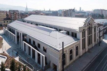 FLAT - Fiera Libro Arte Torino, la nuova sede (esterno): La Centrale, Nuvola Lavazza Foto: Andrea Guermani