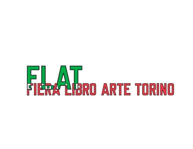 FLAT - Fiera Libro Arte Torino, il logo di Lawrence Weiner