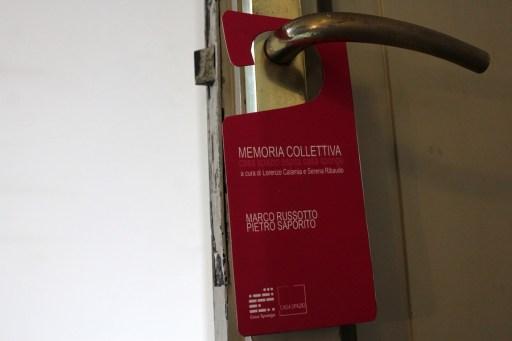 Marco Russotto e Pietro Saporito per Memoria Collettiva