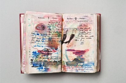 Dieter Roth, Diary pages, 1967 © Dieter Roth Estate