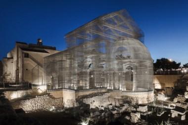 "Edoardo Tresoldi, Basilica di Siponto, Parco Archeologico ""Le Basiliche"", Siponto (FG) © Roberto Conte"