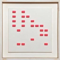 Gianfranco Chiavacci, elaborato binario, 1966 Courtesy Archivio Gianfranco Chiavacci e Die Mauer - Arte Contemporanea, Prato