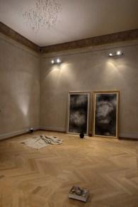 Serena Fineschi, veduta della stanza Del sublime difetto, foto di Elena Foresto