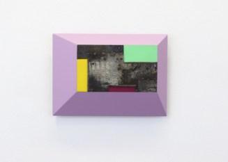 Andrea Cereda, Sequenze #37, 2018, lamiera di ferro su MDF dipinto, 35x25 cm Courtesy l'artista e Castel Negrino Arte, Aicurzio (MB)