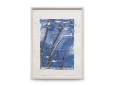 Marìa Magdalena Campos-Pons, CAPTIVA - CLOUDS, 2016, 117,5 x 86,5 cm, tecnica mista su carta Arches