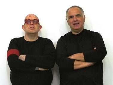 Franko B. e Ciro Rispoli