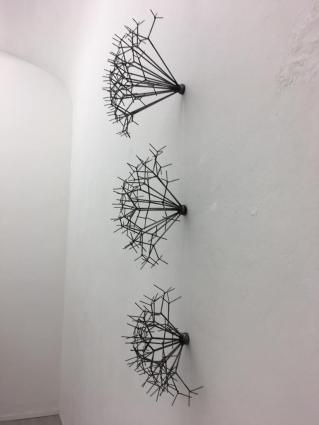 """Andrea Marini, """"Rovi"""", ferro, 2018. Courtesy Die Mauer arte contemporanea"""