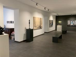 Veduta delle nuove sale al piano superiore di PUNTO SULL'ARTE, Varese