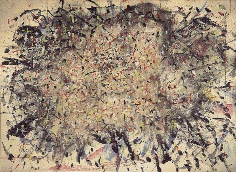 Tancredi, senza titolo (Primavera), 1954, olio su faesite, 93x128cm