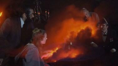 Tony Oursler, Le Volcan, 2015-16, still da video