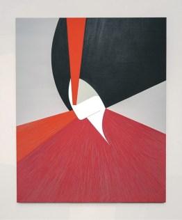 Ester Grossi, Visione 8, 2019, acrilico su tela, 100x80 cm Courtesy Spazio Testoni, Bologna Foto Giulia Mazza