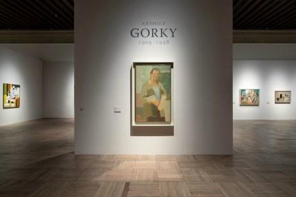 Arshile Gorky: 1904-1948, veduta della mostra, Ca' Pesaro - Galleria Internazionale d'Arte Moderna, Venezia © 2019 The Arshile Gorky Foundation / Artists Rights Society (ARS), New York Foto Lorenzo Palmi