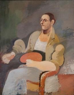 Arshile Gorky, Portrait of Master Bill, 1937 circa, olio su tela, 132.4x101.9 cm, Collezione privata