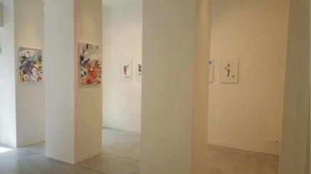 Kinki Texas | Francesco Tricarico, veduta della mostra, Fabbrica Eos, Milano