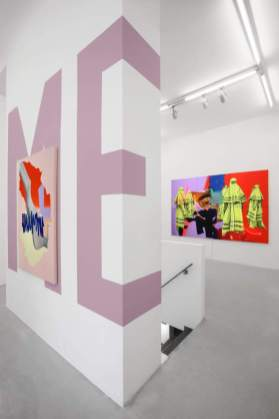 Andrea Martinucci. I will give you a taste of your inner desires, veduta della mostra, 2019, Renata Fabbri arte contemporanea, Milano. Courtesy: Renata Fabbri arte contemporanea