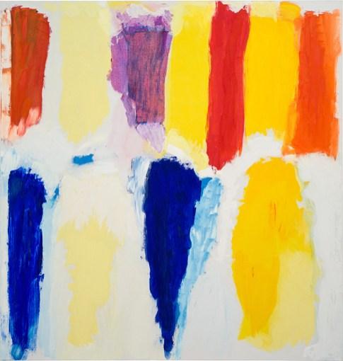 Jerry Zeniuk- Untitled n-208- 1998- 160x152cm- oil on linen