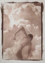 Monica Ragazzini Isa in the Sky #1 Van Dyke print on Hahnemühle paper 38x55cm, 2019 Courtesy Lang Art Gallery (Amsterdam)