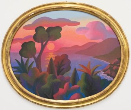 Salvo, S.N.A, s.d., olio su tavola, 62x77 cm (con cornice 73 x 89 cm)
