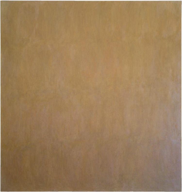 Jerry Zeniuk, Untitled n°65, 1977, 160x152 cm, olio e cera su lino