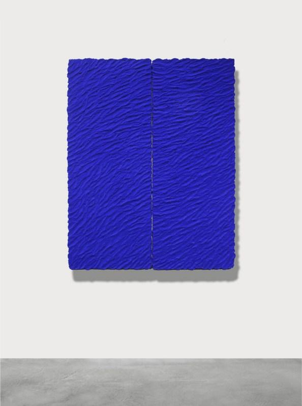 Pino Pinelli, Pittura BL, 2012, tecnica mista, cm 160x120