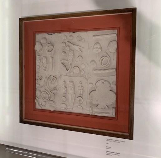 Remo Bianco. Le impronte della memoria, veduta della mostra, Museo del Novecento, Milano